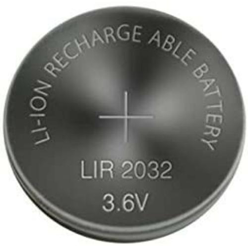 LIR2032 3,6V lítium gomb akkumulátor