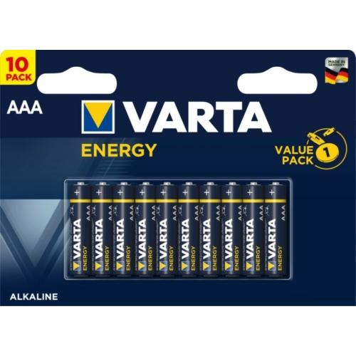 LR03 AAA Varta Energy alkáli mikro elem C10