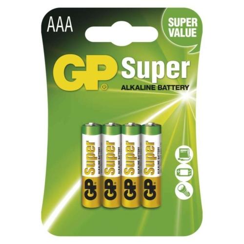 LR03 GP24A-C4 Super alkáli mikró elem bliszteres
