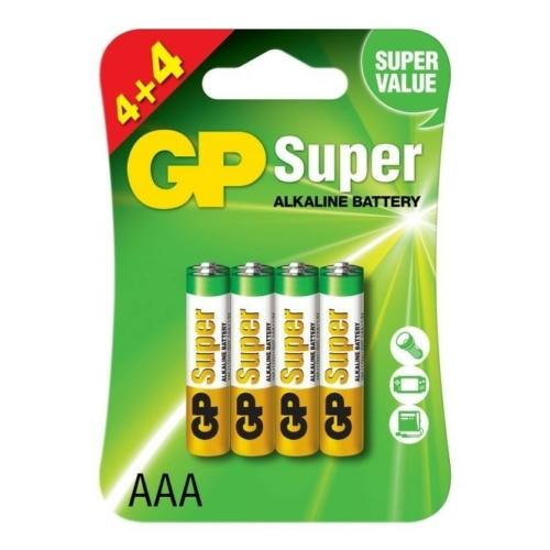 LR03 GP24A-C8 Super alkáli mikró elem bliszteres