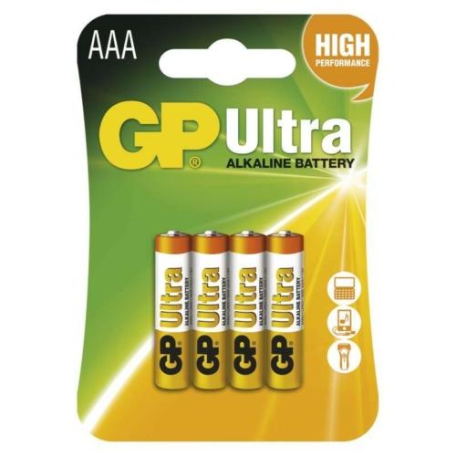 LR03 GP24AU-C4 Ultra alkáli mikró elem  bliszteres