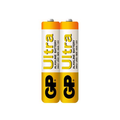 LR03 GP24AU-S2 Ultra alkáli mikró elem fóliás