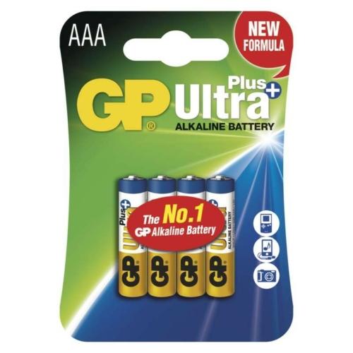 LR03 GP24AUP-C4 UltraPlus alkáli mikró elem  bliszteres