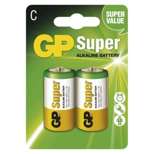 LR14 GP14A-C2 Super alkáli baby elem bliszteres