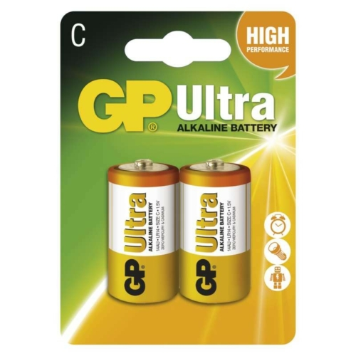 LR14 GP14AU-C2 Ultra alkáli baby elem bliszteres
