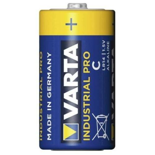 LR14 Varta alkáli ipari pro baby elem 4014 fóliás