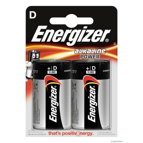 LR20 Energizer Alkaline Power góliát elem bliszteres