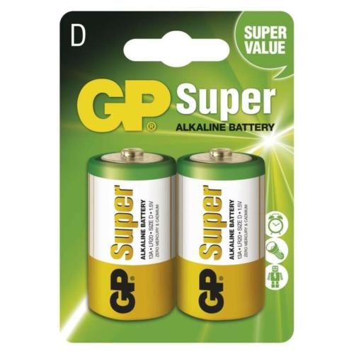 LR20 GP13A-C2 Super alkáli góliát elem bliszteres