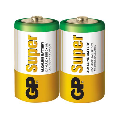 LR20 GP13A-S2 Super alkáli góliát elem fóliás