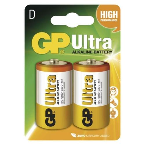 LR20 GP13AU-C2 Ultra alkáli góliát elem bliszteres