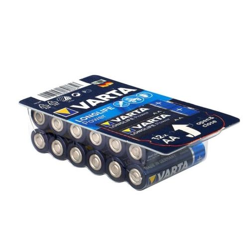LR6 AA Varta Longlife Power alkáli ceruza elem bliszteres C12