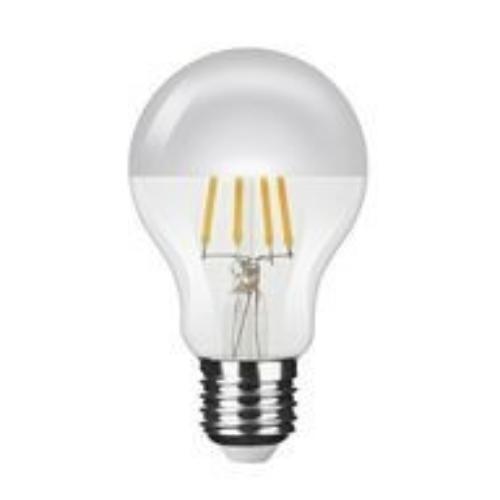 Modee LED izzó gömb A60 4W 2700K Filament Silver Top