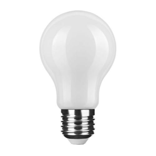 Modee LED izzó gömb A60 6W E27 360°4000K Filament Milky