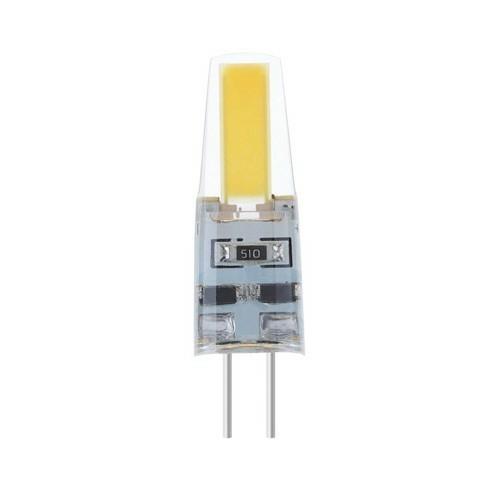 Modee LED izzó 2W G4 foglalat COB leddel AC220-240V 6000K Szilikon