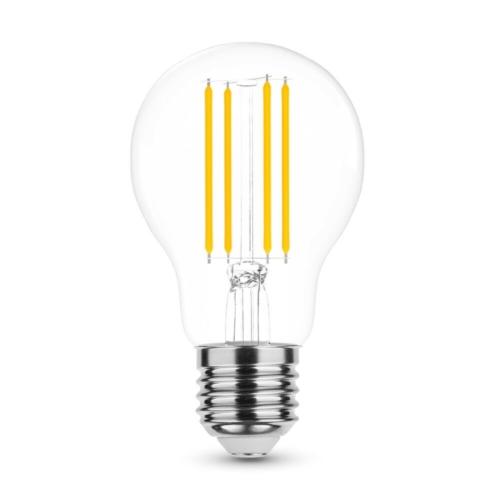 Modee LED izzó gömb A60 6W E27 360°4000K Filament (600 lumen)