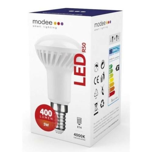 Modee LED izzó R50 5W E14 foglalat 4000K