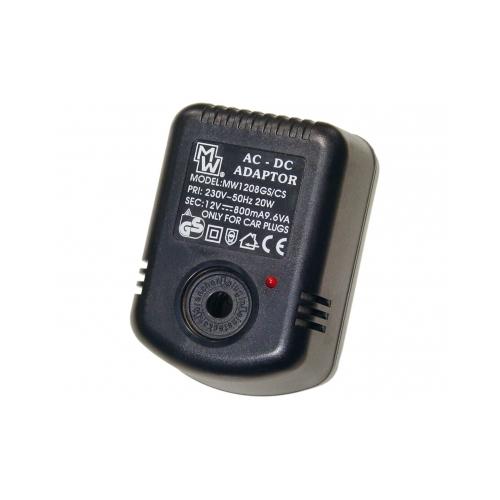 MW 1208CS 12V 800mAh Fix adapter szivargyújtó foglalattal