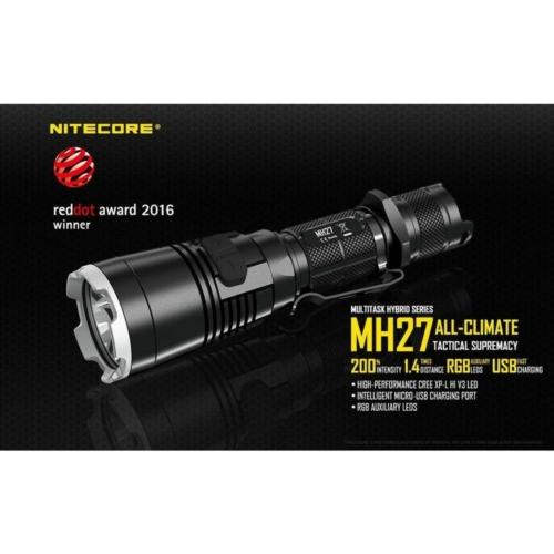 Nitecore MH27 tölthető LED rúdlámpa