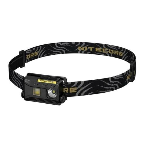 Nitecore NU25 LED fejlámpa fekete