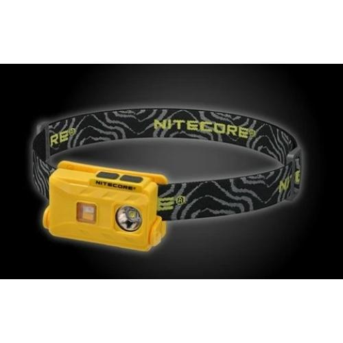 Nitecore NU25 LED fejlámpa sárga