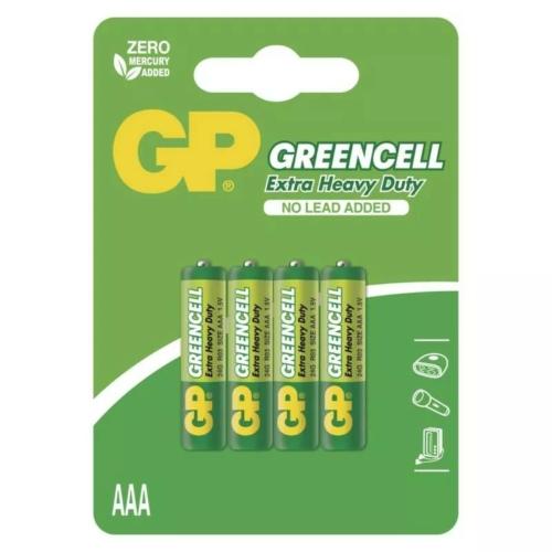 R03 GP24G-C4 Greencell mikro elem bliszteres