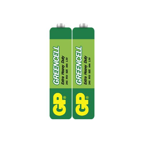 R03 GP24G-S2 Greencell mikro elem fóliás