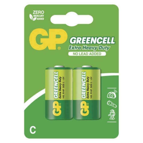 R14 GP14G-C2 Greencell baby elem bliszteres