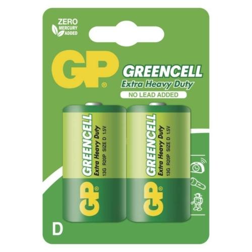R20 GP13G-C2 Greencell góliát elem bliszteres