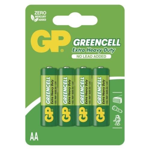 R6 GP15G-C4 Greencell ceruza elem bliszteres