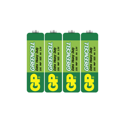 R6 GP15G-S4 Greencell ceruza elem fóliás