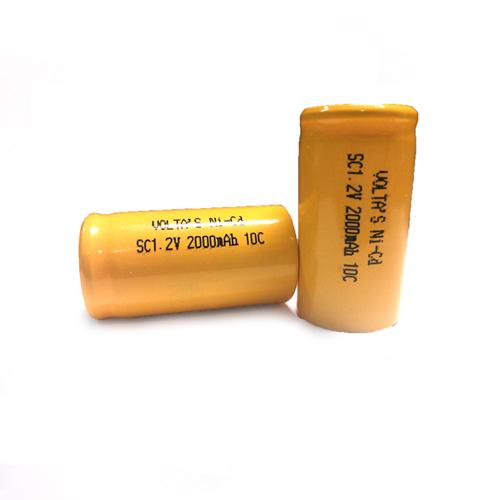 SC 200SCK Voltas akku 2000mAh Ni-Cd 23*43mm HD