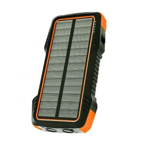 Solar Powerbank mobiltöltő 26800mAh