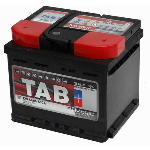 TAB Magic 54Ah 510A indító akkumulátor 207*175*175 J+