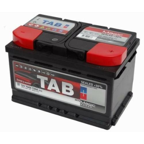 TAB Magic 75Ah 720A indító akkumulátor 278*175*175 J+