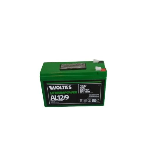 Voltas 12,8V 9Ah LiFePO4 lítium vasfoszfát akkumulátor 151*65*95 digit.